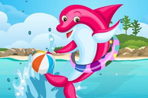 欢乐的小海豚