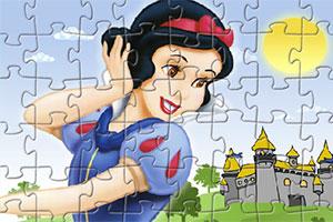 白雪公主趣味拼图