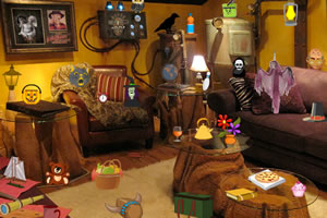 诡异房间找东西