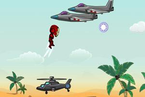 钢铁侠打飞机