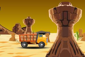 沙漠运货卡车