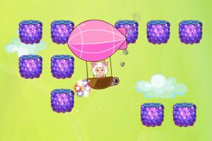 美羊羊热气球采水果