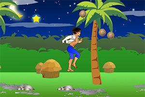 跑酷收集椰子