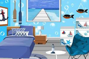 海滩主题房间