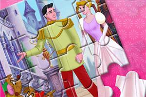 王子和灰姑娘拼图