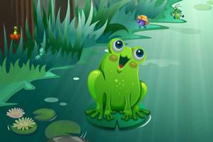 小青蛙除害虫