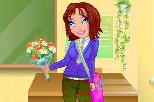 克莉丝回学校