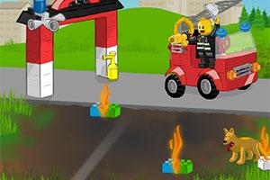 乐高消防车