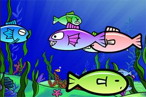 海底吃小鱼