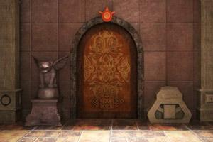 古老的寺庙逃生