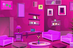 超级粉红房间逃脱