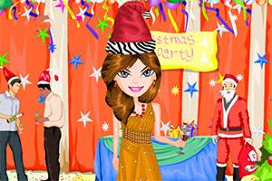 圣诞节的派对装扮