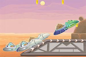 愤怒的小鸟星际飞船