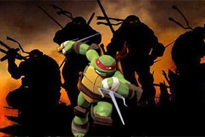 踢飞忍者神龟