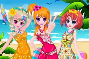 海滩三姐妹