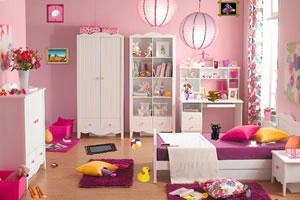 粉色系房间找东西