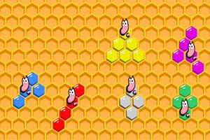 可爱蜂巢消除