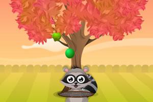 小浣熊砸苹果