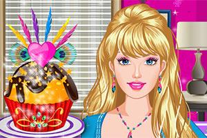 芭比生日蛋糕