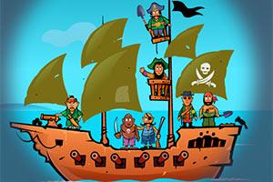 可恶的海盗无敌版