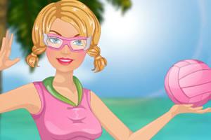 芭比沙滩排球