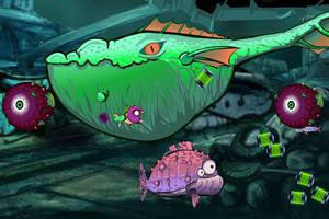 深海变异鱼无敌版