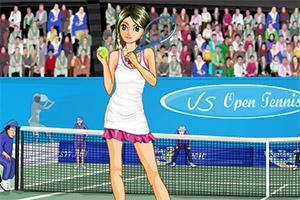 装扮网球女生