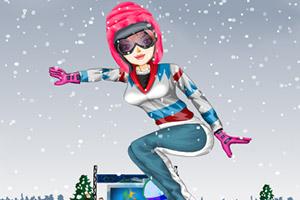 奥运滑雪员换装