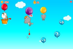 懒羊羊射气球