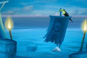 逃离海盗海岛