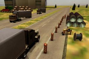 3D美国大货车