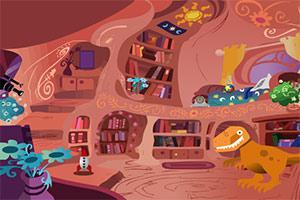 逃离中国式恐龙洞穴