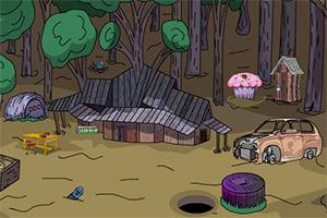 逃出森林小屋