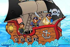 杰克船长制裁海盗