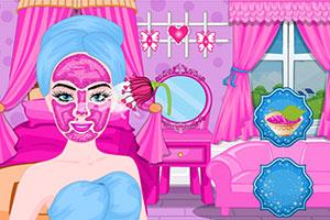 芭比公主美容日