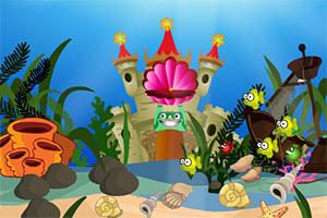 金鱼逃离海底宫殿