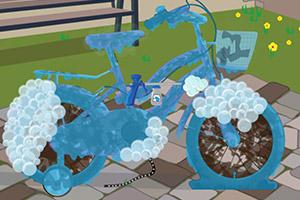 自行车的清理和维修