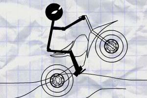 火柴人的自行车