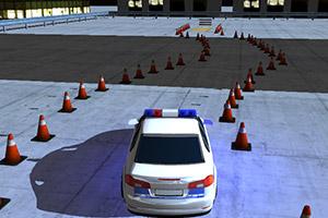 警车驾驶考核