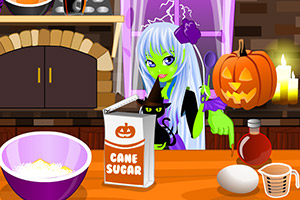 女巫纸杯蛋糕