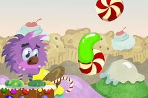 小怪物收糖果