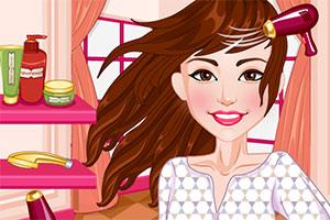 赛琳娜的新发型