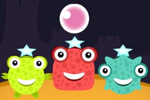 青蛙弹气泡