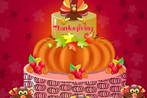 2014感恩节南瓜蛋糕
