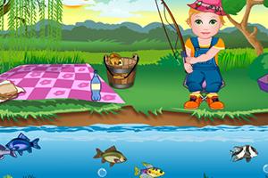 朱丽叶宝贝的钓鱼日