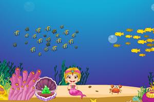 小美人鱼海底探险