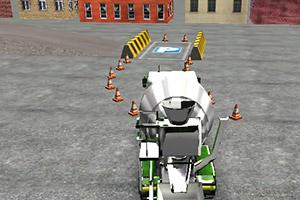 3D水泥卡车停靠