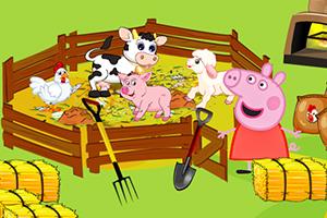 粉红小猪农场喂食