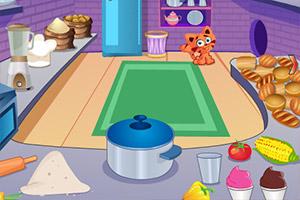 小猫逃出面包店
