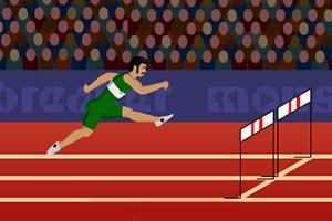 奥运跨栏比赛